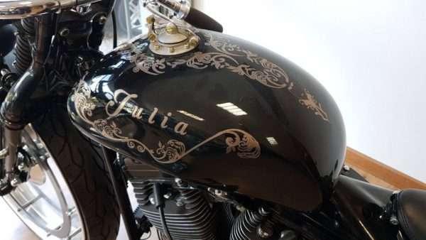 Prototipo moto custom Harley-Davidson Carrozzeria Rossi