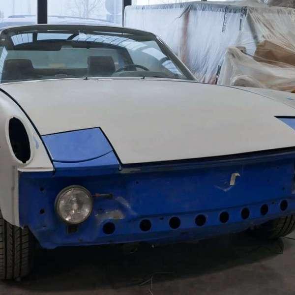 Restauro Porsche 914
