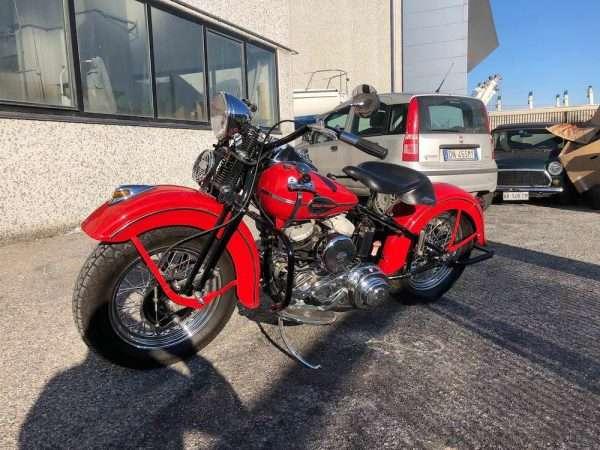 Harley Davidson WLA 1942 Vendita moto restaurata